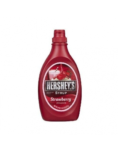 Hershey's dark strawberry syrup