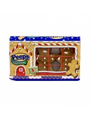 Peeps Marshmallows 3 Ginger Man