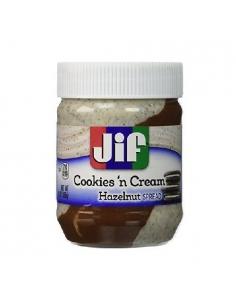 JIF cookies 'n' cream avellanas