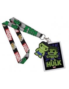 Llavero y cinta Marvel Pop Hulk