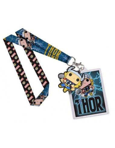 Llavero y cinta Marvel Pop Thor