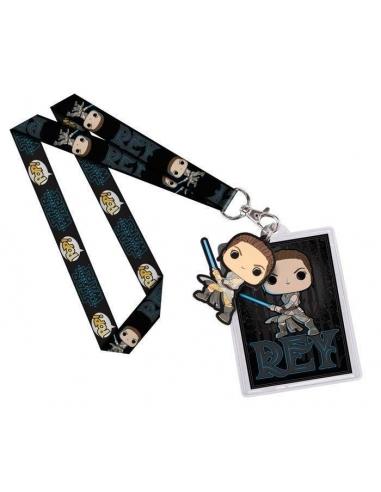 Llavero y cinta Star Wars pop Episode VII Rey