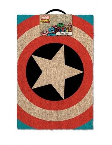 Felpudo Escudo Capitan America