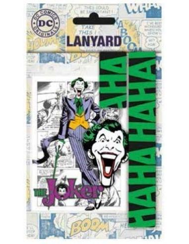 Llavero y cinta DC Comics Joker