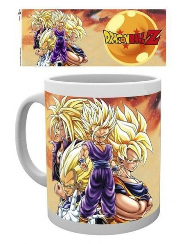 Taza Dragon Ball Z Super Saiyans