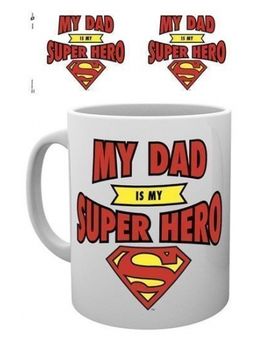 Taza Superman Dad Superheroe