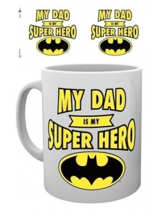 Taza Batman Dad Superheroe
