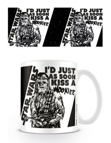 Taza Star wars Besa a un Wookie