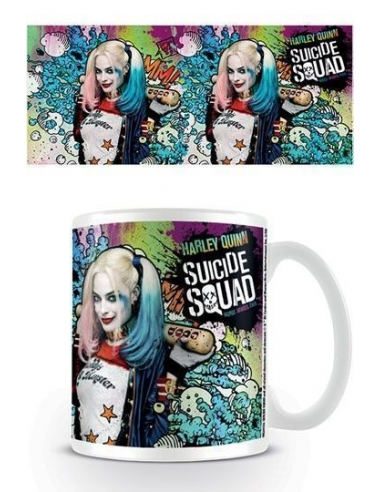 Taza Escuadron Suicida Harley Quinn