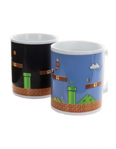 Taza Super Mario Bros Sensitiva