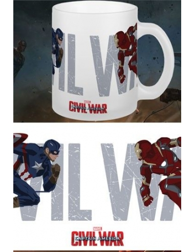 Taza Marvel Civil War