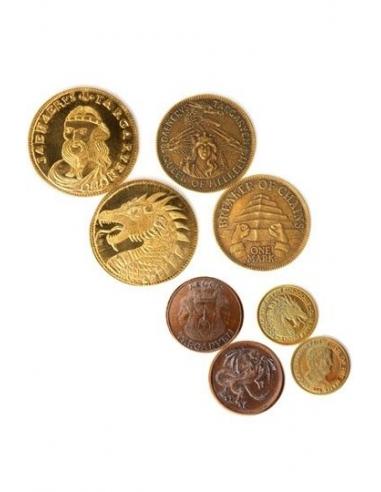 Set de Cuatro Monedas Juego de Tronos Targaryen