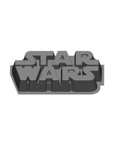 Molde Silicona Star wars Logo
