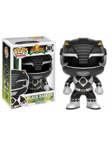 Blac Ranger Power Rangers Pop
