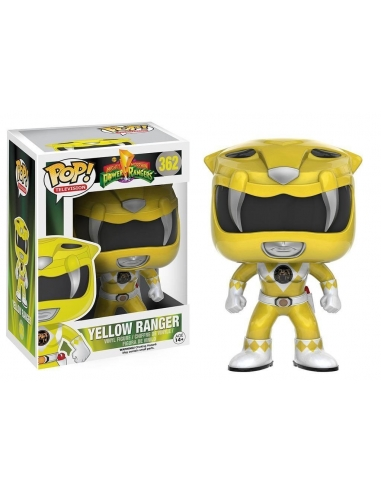 Yellow Ranger Powers Rangers Pop
