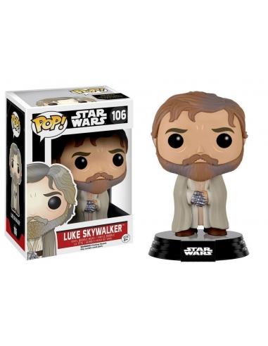 Luke Skywalker Barbudo Episode VII Star Wars Pop
