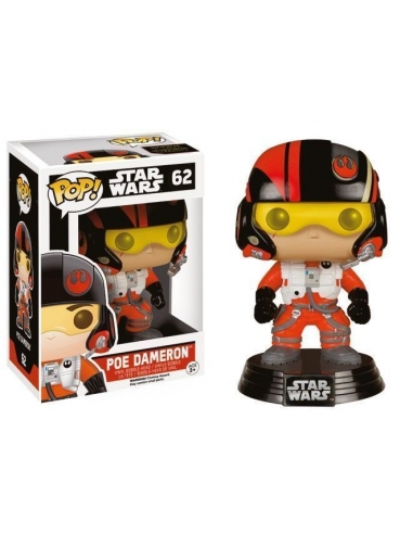Poe Dameron Episode VII Star Wars Pop