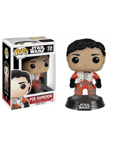 Poe Dameron (sin Casco) Episode VII Star Wars Pop