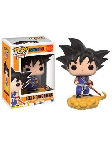 Goku y Nube Kinto Dragon Ball Z Pop