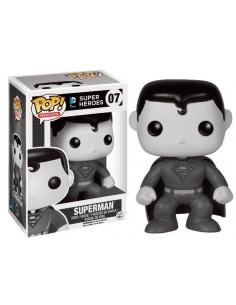 Super Man Blanco y Negro DC Pop