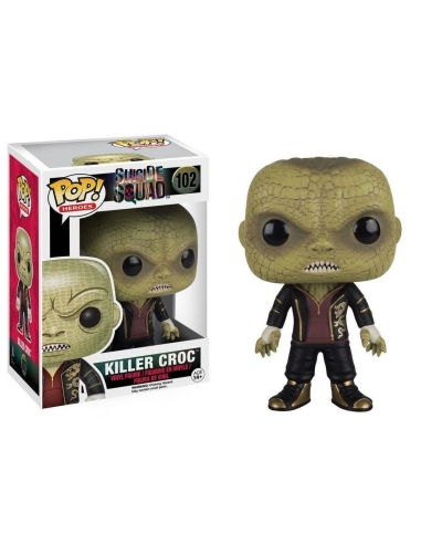 Killer Croc Escuadron Suicida Pop