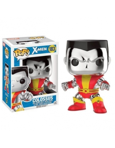 Colossus (Cromado) X-Men Pop