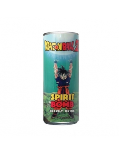Dragon Ball Z Spirit Bomb Energy Drink