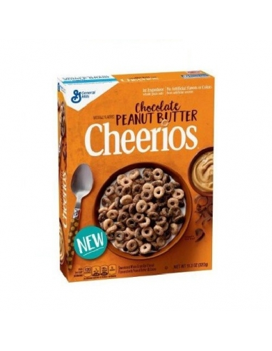 Cheerios Chocolate y Peanutbutter cream